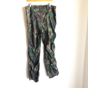Camouflage Plus Size  Cotton  Jeans by Crest